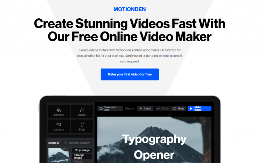 create animated text videos easily
