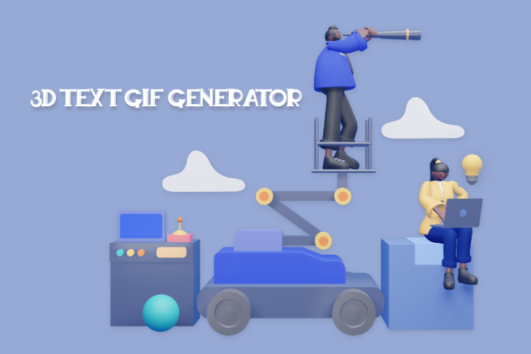 8 Must-have 3D Text GIF Generator