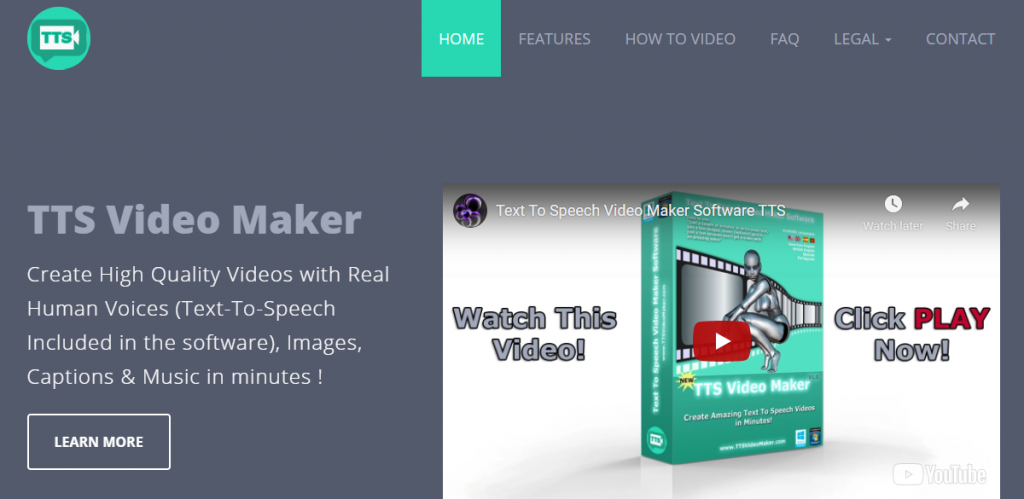 TTS Videomaker text to speech video maker