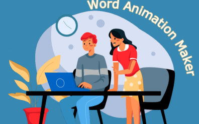 Word Animation Maker to Create Text Animation Instantly