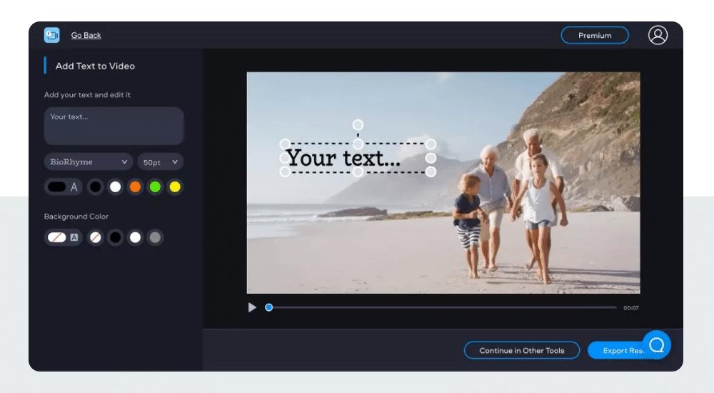 Fastreel animated text generator online