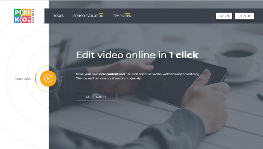 pixiko animated text generator online for generating professional video results