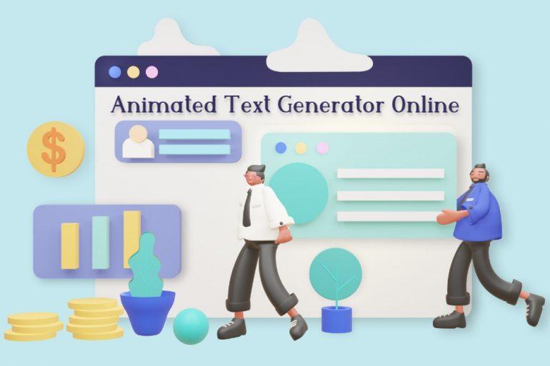 top 7 trending animated text generators online